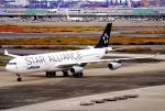 SFJ_capさんが、羽田空港で撮影したルフトハンザドイツ航空 A340-313Xの航空フォト(飛行機 写真・画像)