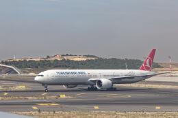 Airliners Freakさんが、イスタンブール空港で撮影したターキッシュ・エアラインズ 777-3F2/ERの航空フォト(飛行機 写真・画像)