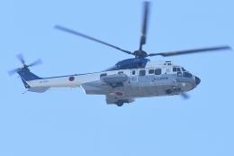 500さんが、自宅上空で撮影した陸上自衛隊 EC225LP Super Puma Mk2+の航空フォト(飛行機 写真・画像)