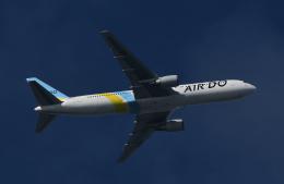 チャーリーマイクさんが、羽田空港で撮影したAIR DO 767-381/ERの航空フォト(飛行機 写真・画像)
