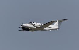 パラノイアさんが、岩国空港で撮影したアメリカ海軍 UC-12F Super King Air (B200C)の航空フォト(飛行機 写真・画像)