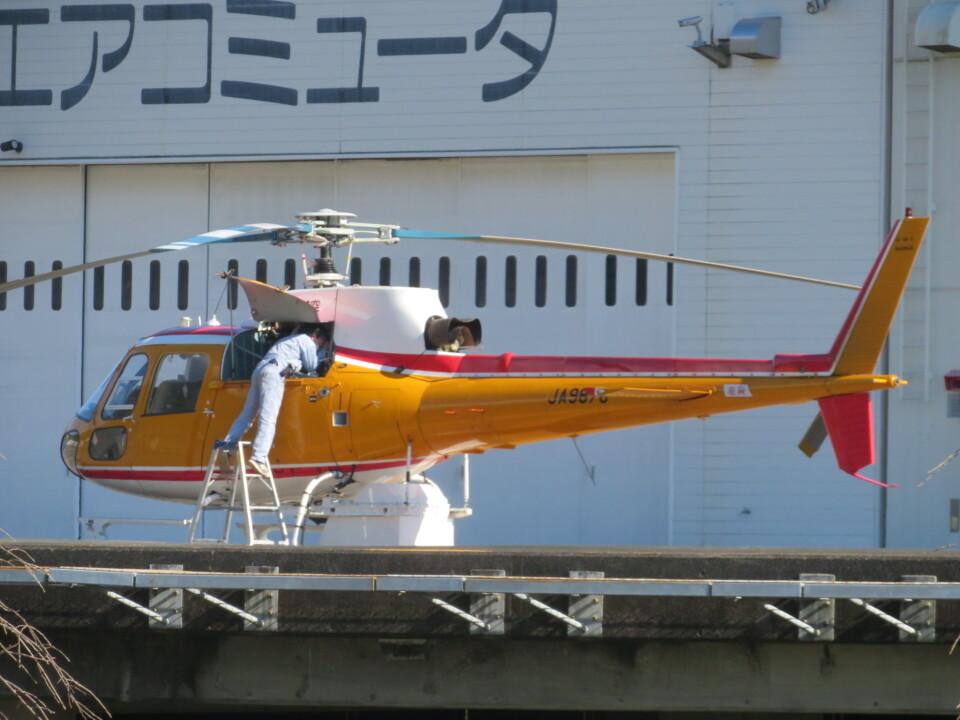 ランチパッドさんの東邦航空 Aerospatiale AS350 Ecureuil/AStar (JA9878) 航空フォト