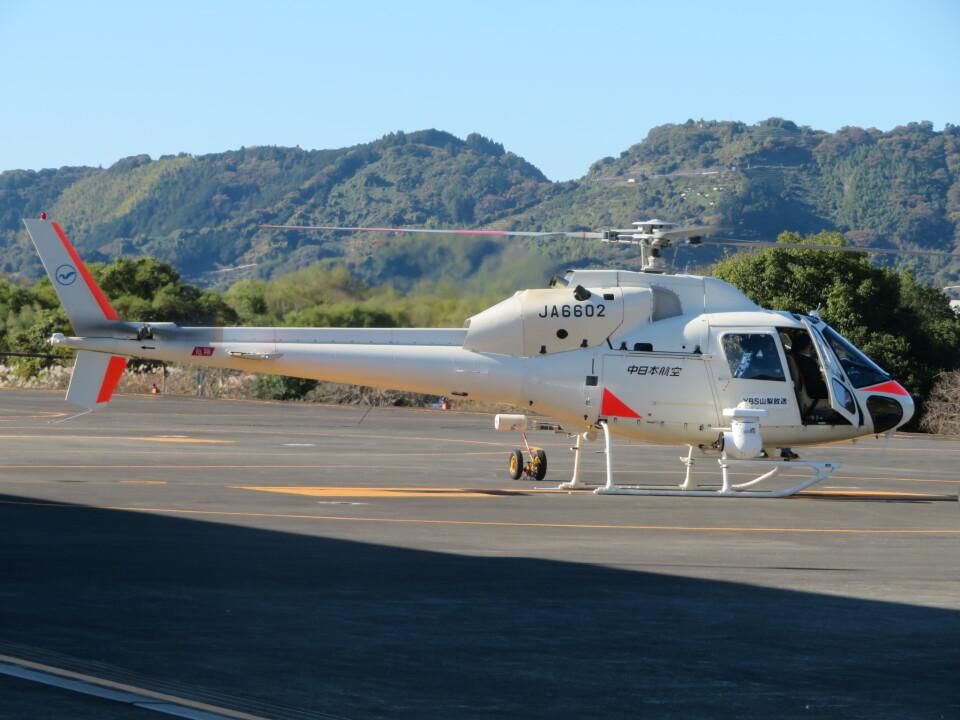 ランチパッドさんの中日本航空 Aerospatiale AS355 Ecureuil 2/TwinStar (JA6602) 航空フォト