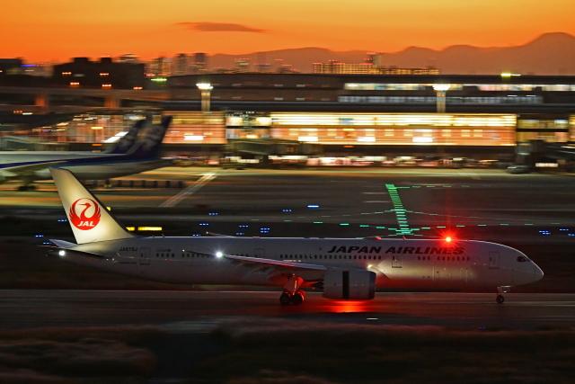 Souma2005さんが、羽田空港で撮影した日本航空 787-9の航空フォト(飛行機 写真・画像)