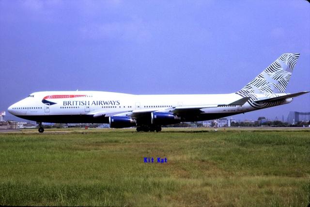 キットカットさんが、名古屋飛行場で撮影したブリティッシュ・エアウェイズ 747-436の航空フォト(飛行機 写真・画像)