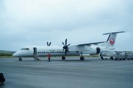 FRTさんが、与那国空港で撮影した琉球エアーコミューター DHC-8-402Q Dash 8 Combiの航空フォト(飛行機 写真・画像)