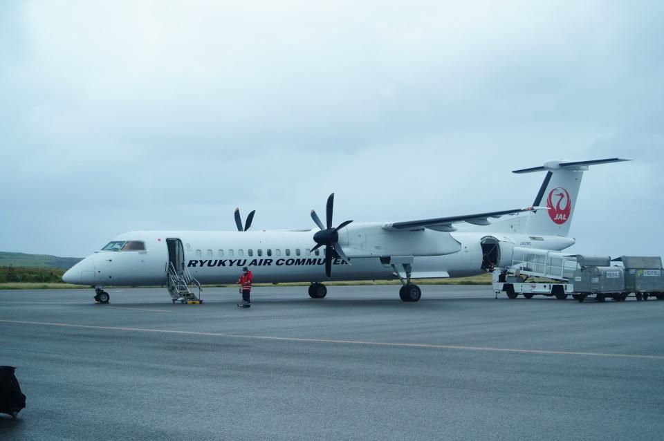 FRTさんの琉球エアーコミューター Bombardier DHC-8-400 (JA83RC) 航空フォト