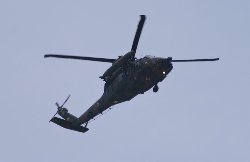 Smyth Newmanさんの陸上自衛隊 Mitsubishi UH-60JA (43118) 航空フォト