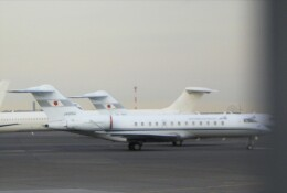Smyth Newmanさんが、羽田空港で撮影した国土交通省 航空局 BD-700-1A10 Global Expressの航空フォト(飛行機 写真・画像)