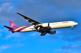 EY888さんが、成田国際空港で撮影したタイ国際航空 777-3D7/ERの航空フォト(飛行機 写真・画像)