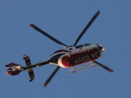 丸めがねさんが、羽田空港で撮影した読売新聞 EC135P2の航空フォト(飛行機 写真・画像)