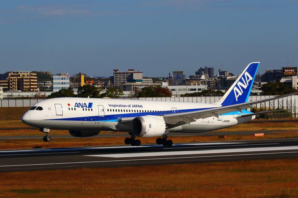 khideさんの全日空 Boeing 787-8 Dreamliner (JA825A) 航空フォト