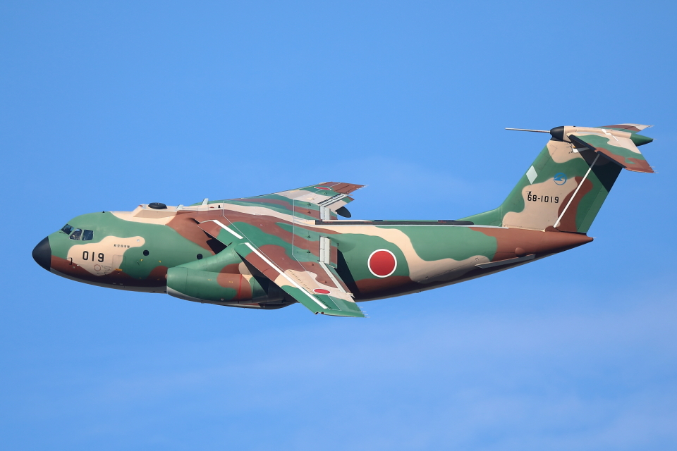 levo2735さんの航空自衛隊 Kawasaki C-1 (68-1019) 航空フォト