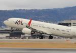 ふじいあきらさんが、伊丹空港で撮影したJALエクスプレス 737-846の航空フォト(飛行機 写真・画像)
