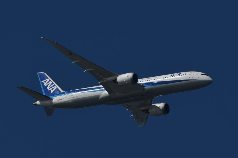 チャーリーマイクさんの全日空 Boeing 787-9 (JA880A) 航空フォト