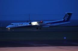 sumihan_2010さんが、稚内空港で撮影したANAウイングス DHC-8-402Q Dash 8の航空フォト(飛行機 写真・画像)