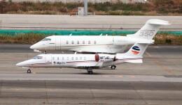ハム太郎。さんが、羽田空港で撮影したボンバルディア BD-100 Challenger 300/350の航空フォト(飛行機 写真・画像)