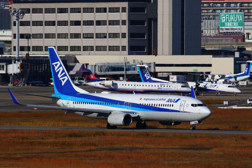 khideさんの全日空 Boeing 737-800 (JA79AN) 航空フォト