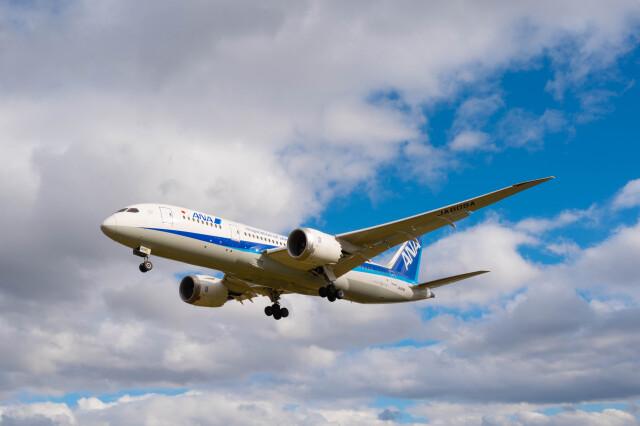 Astechnoさんが、伊丹空港で撮影した全日空 787-8 Dreamlinerの航空フォト(飛行機 写真・画像)
