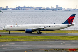Cozy Gotoさんが、羽田空港で撮影したデルタ航空 A330-941の航空フォト(飛行機 写真・画像)