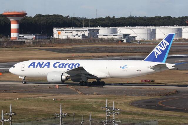 utarou on NRTさんが、成田国際空港で撮影した全日空 777-F81の航空フォト(飛行機 写真・画像)