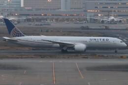 BOEING737MAX-8さんが、羽田空港で撮影したユナイテッド航空 787-9の航空フォト(飛行機 写真・画像)