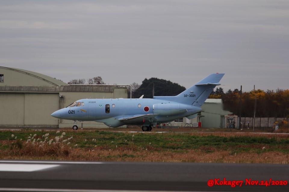 湖景さんの航空自衛隊 Raytheon U-125A (32-3021) 航空フォト