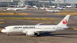 誘喜さんが、羽田空港で撮影した日本航空 787-8 Dreamlinerの航空フォト(飛行機 写真・画像)