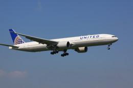 けいとパパさんが、成田国際空港で撮影したユナイテッド航空 777-322/ERの航空フォト(飛行機 写真・画像)