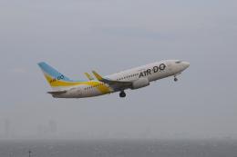 乙事さんが、羽田空港で撮影したAIR DO 737-781の航空フォト(飛行機 写真・画像)