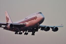 senyoさんが、成田国際空港で撮影したタイ国際航空 747-4D7の航空フォト(飛行機 写真・画像)