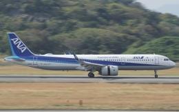 ✈︎Love♡ANA✈︎さんが、長崎空港で撮影した全日空 A321-272Nの航空フォト(飛行機 写真・画像)