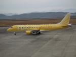 ヒコーキグモさんが、岡山空港で撮影したフジドリームエアラインズ ERJ-170-200 (ERJ-175STD)の航空フォト(飛行機 写真・画像)