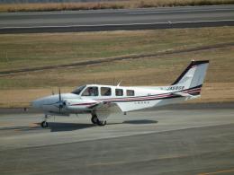 ヒコーキグモさんが、岡山空港で撮影した朝日航空 Baron G58の航空フォト(飛行機 写真・画像)