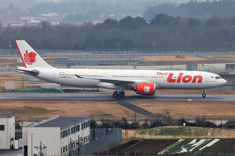 kan787allさんのタイ・ライオン・エア Airbus A330-900 (HS-LAK) 航空フォト