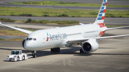 JPN AIRWAYSさんが、羽田空港で撮影したアメリカン航空 787-9の航空フォト(飛行機 写真・画像)
