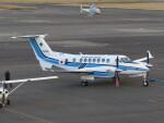 F.YUKIHIDEさんが、岡南飛行場で撮影した海上保安庁 King Air 350C (B300C)の航空フォト(飛行機 写真・画像)