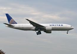 雲霧さんが、成田国際空港で撮影したユナイテッド航空 777-222/ERの航空フォト(飛行機 写真・画像)