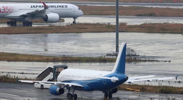 誘喜さんが、羽田空港で撮影した金鹿航空 A320-232 CJ Prestigeの航空フォト(飛行機 写真・画像)