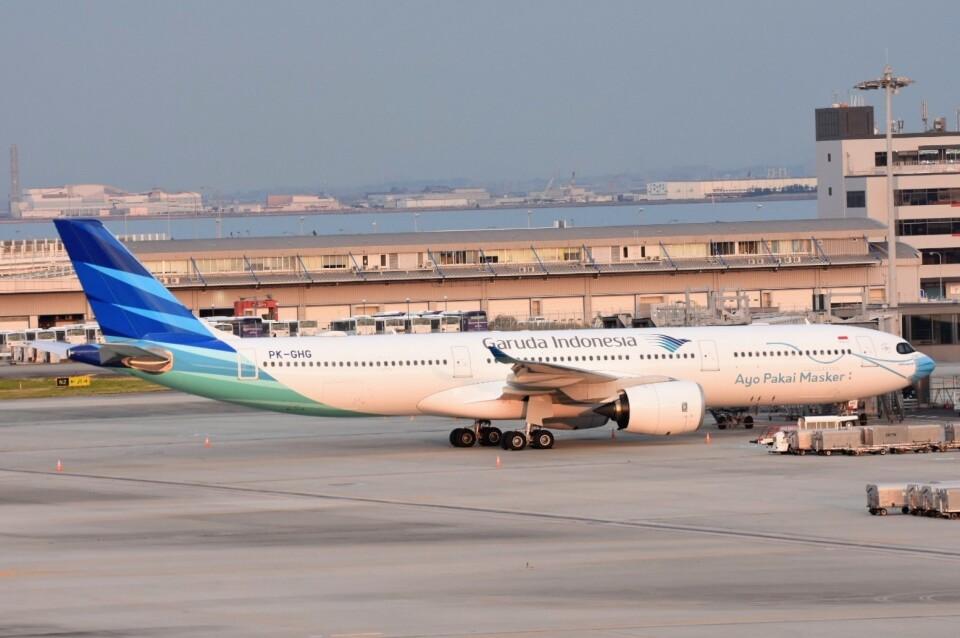M.Tさんのガルーダ・インドネシア航空 Airbus A330-900 (PK-GHG) 航空フォト