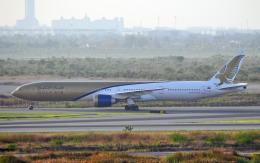 hs-tgjさんが、スワンナプーム国際空港で撮影したガルフ・エア 777-35R/ERの航空フォト(飛行機 写真・画像)
