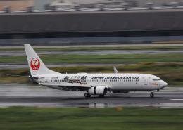 HNANA787さんが、羽田空港で撮影した日本トランスオーシャン航空 737-8Q3の航空フォト(飛行機 写真・画像)