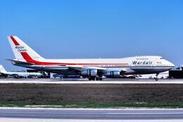 パール大山さんが、マイアミ国際空港で撮影したワードエア 747-1D1の航空フォト(飛行機 写真・画像)