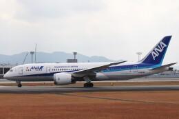 Yuseiさんが、熊本空港で撮影した全日空 787-8 Dreamlinerの航空フォト(飛行機 写真・画像)