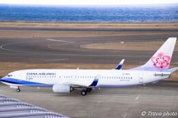 triton@blueさんが、中部国際空港で撮影したチャイナエアライン 737-8ALの航空フォト(飛行機 写真・画像)