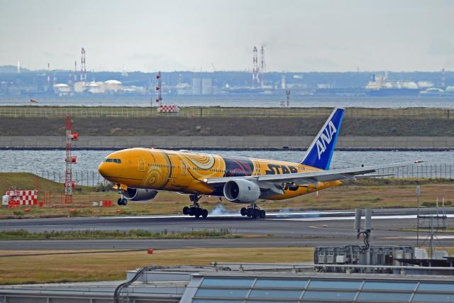Souma2005さんが、羽田空港で撮影した全日空 777-281/ERの航空フォト(飛行機 写真・画像)