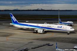 kina309さんが、羽田空港で撮影した全日空 777-381の航空フォト(飛行機 写真・画像)
