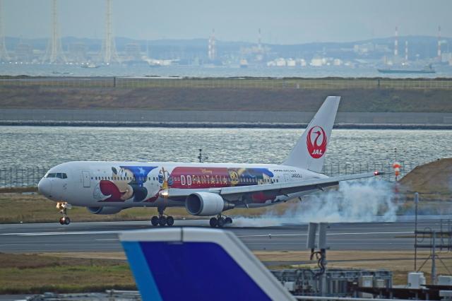 Souma2005さんが、羽田空港で撮影した日本航空 767-346/ERの航空フォト(飛行機 写真・画像)
