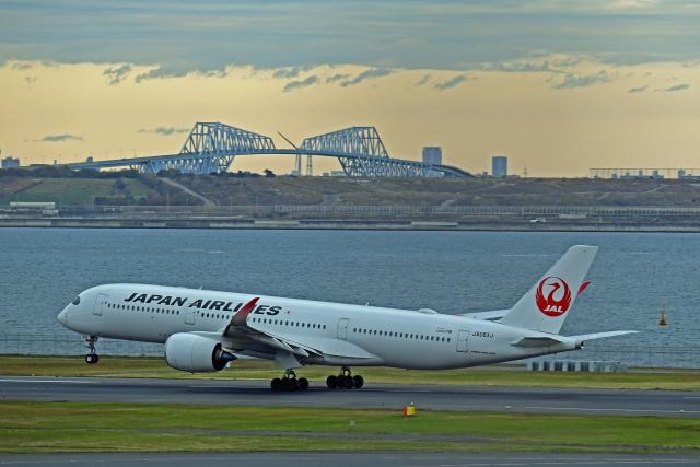 Souma2005さんが、羽田空港で撮影した日本航空 A350-941の航空フォト(飛行機 写真・画像)