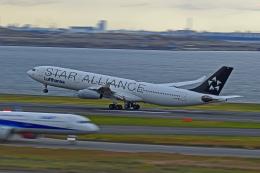 Souma2005さんが、羽田空港で撮影したルフトハンザドイツ航空 A340-313Xの航空フォト(飛行機 写真・画像)